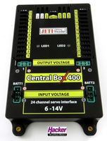 Jeti - Central Box 400 (inklusive 2x Rsat2 und RC Switch)