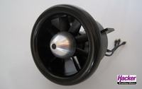 Wemotec - Impeller Mini Fan Evo mit Hacker A30-14M-DF