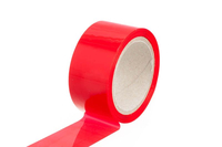 Voltmaster - Covering Trim Tape rot 50mm - 66m