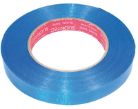 Much More - Farb Gewebe Band (Blau) 50m x 17mm (CS-TB)