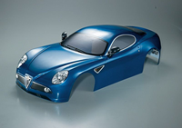 Killerbody - Alfa Romeo 8C 1/7, Dunkel Metallic Blau, RTU all-in (KB48093)