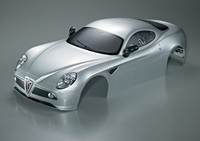 Killerbody - Alfa Romeo 8C 1/7, Silber, RTU all-in (KB48094)