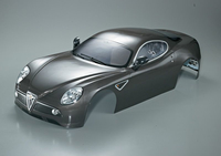 Killerbody - Alfa Romeo 8C 1/7, Silber-Grau, RTU all-in...