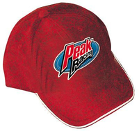 Peak Performance - Peak Low Profile Cap - Gray w/4-color logo (PEK1514)