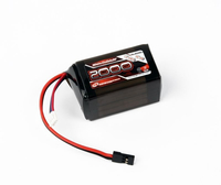 Robitronic - LiFe 6,6V, 2000mAh, 2/3A Hump Size, Empf�ngerpack (EH) (R05208)