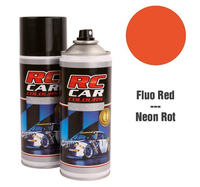 RC Colours - Lexan Spray fluoreszierend rot - 150 ml