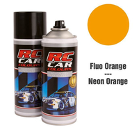 RC Colours - Lexan Spray fluoreszierend orange - 150 ml