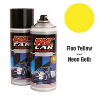 RC Colours - Lexan Spray fluoreszierend gelb - 150 ml