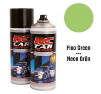 RC Colours - Lexan Spray fluoreszierend Grün - 150 ml