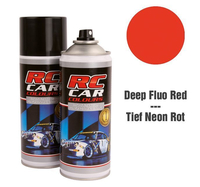 RC Colours - Lexan Spray fluoreszierend dunkel rot - 150 ml