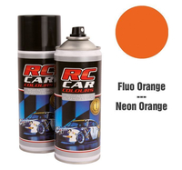 RC Colours - Lexan Spray fluoreszierend dunkel orange -...