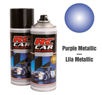 RC Colours - Lexan Spray purple metalic - 150 ml