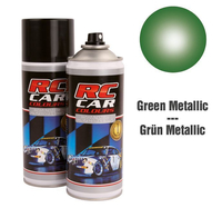 RC Colours - Lexan Spray grün metalic - 150 ml