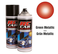 RC Colours - Lexan Spray rot metalic - 150 ml
