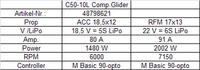 Hacker Motor C50-10 L + 6,7:1 Glider Competition (48798621)