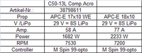 Hacker Motor C50-13 L Acro 6,7:1 Competition (38798611)