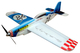 RC factory - Nemesis blue EPP - 780mm