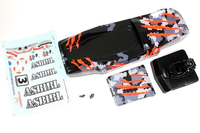 Absima - Karosserie camouflage/orange Hot Shot Sand Buggy (1230120)