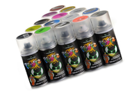Absima - Polycarbonat Spray Paintz metallisch silber - 150ml