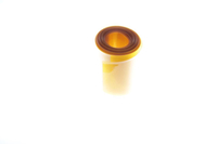 Muldental - PVC Schrumpfschlauch 60:30mm transparent orange - 1m