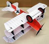 RC factory - Crack Fokker rot/weiß EPP - 890mm