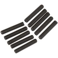 1//4-10-24 x 1//2 Coarse Thread Socket Shoulder Screw Nylon Pellet Alloy Steel Black Oxide Pk 25