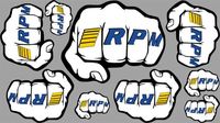 RPM Fist Logo Decal Sheets (RPM70020)