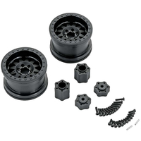 Horizon Hobby - AX31178 2.2 Method Beadlock Wheels IFD Black (2) (AXIC8076)
