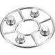 Horizon Hobby - AX8080 Hub Cover Set Satin Chrome (4)...