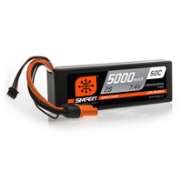 Spektrum - 5000mAh 2S 7.4V Smart LiPo Hardcase IC5 - 50C