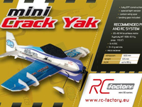 RC factory - Mini Crack Yak EPP - 600mm