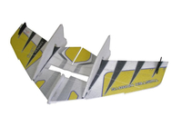 RC factory - Crack Wing gelb EPP - 750mm