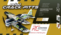 RC factory - Mini Crack Pitts gr�n EPP - 600mm