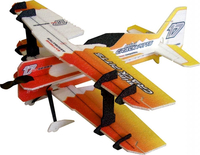 RC factory - Mini Crack Pitts orange EPP - 600mm
