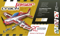 RC factory - Crack Laser lite rot EPP - 800mm